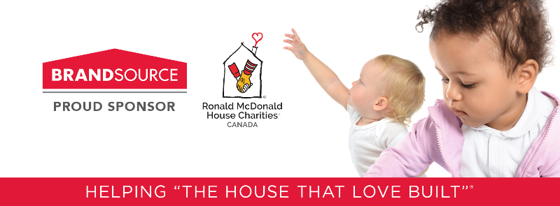 Renaud's BrandSource 2021 Fundraising Campaign Supporting RMHC Atlantic House