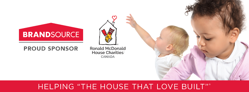 BrandSource Canada 2021 Fundraiser - $20,000 for the new RMHC Atlantic House