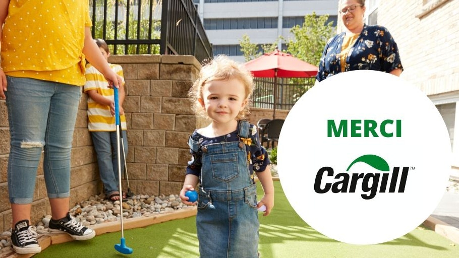 Cargill, toddler
