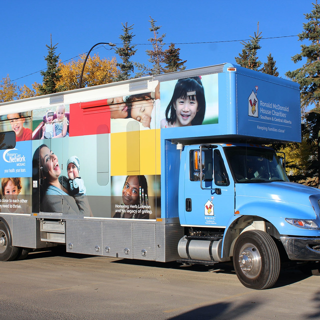 RMHC Care mobile vehicle