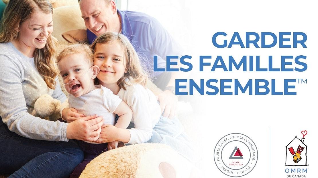 RMHC Family, Imagine Canada logo, RMHC logo