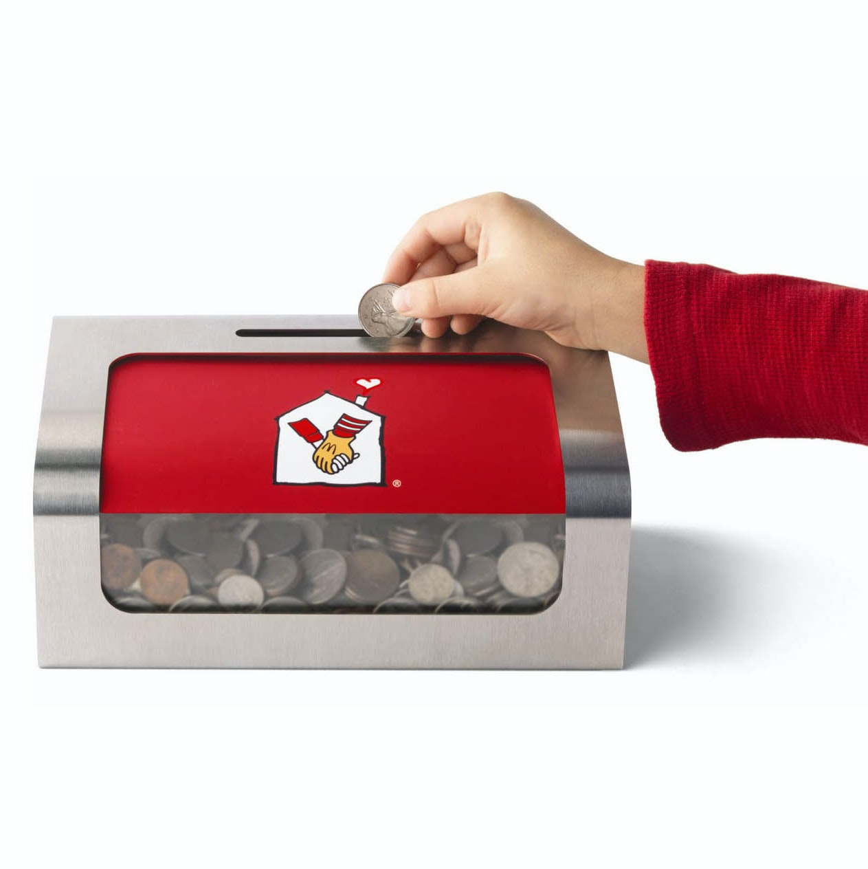 RMHC McDonald's Coin box