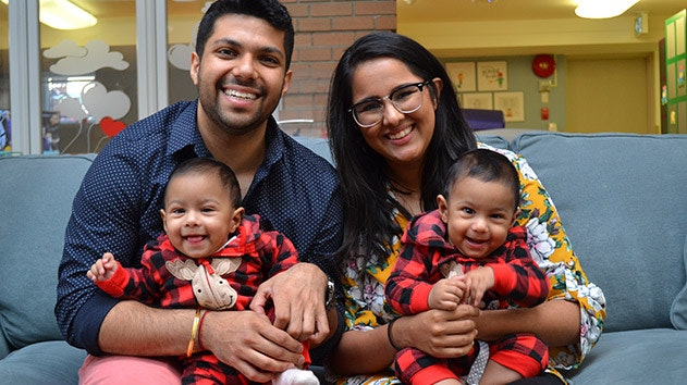 The Mistry family